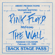 Pink Floyd Backstage Pass