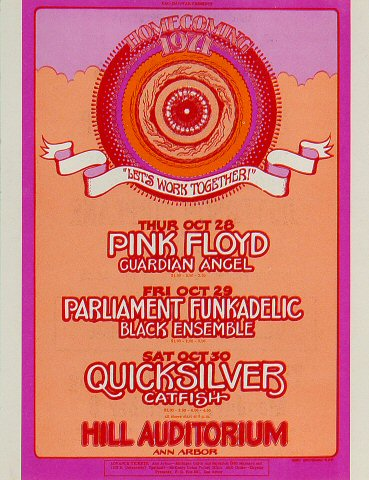 Pink FloydHandbill