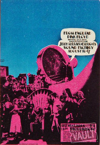 Pink Floyd Handbill