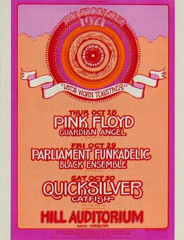 Pink Floyd Handbill