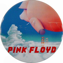 Pink Floyd Retro Pin