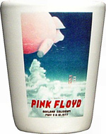 Pink Floyd Retro Shotglass