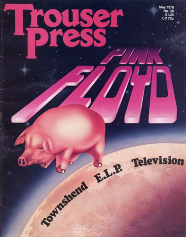 Pink FloydTrouser Press Magazine