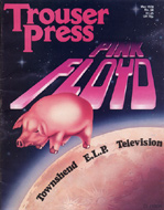 Pink Floyd Trouser Press Magazine