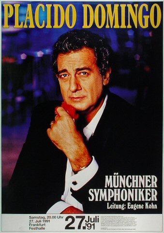 Placido Domingo Poster
