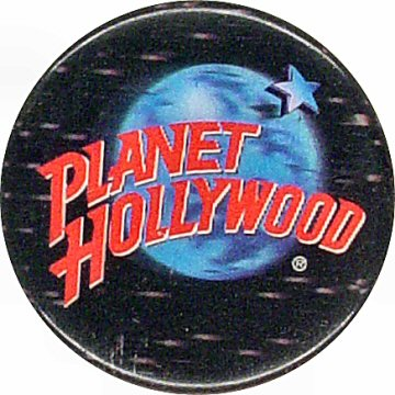 Planet HollywoodVintage Pin