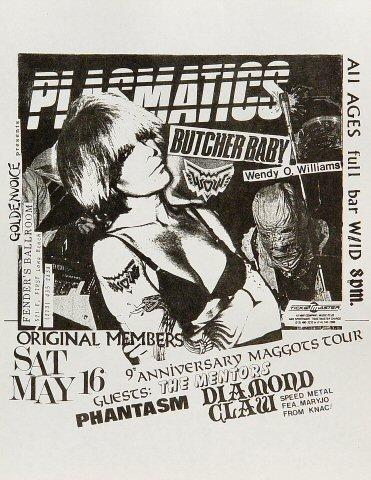 Plasmatics Handbill