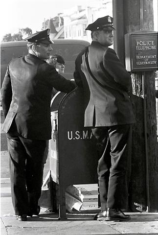 Police OfficersPremium Vintage Print