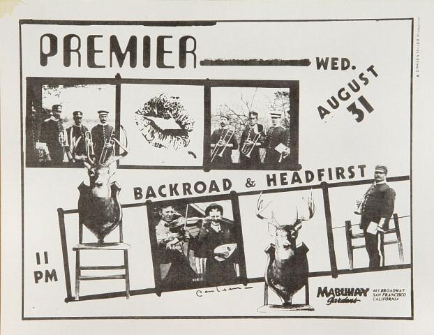 Premiere Handbill