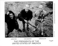 Presidents of the United States of America Promo Print