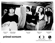 Primal Scream Promo Print