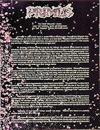 Primus Handbill