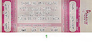 Alice in Chains Vintage Ticket