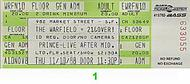 Prince 1980s Ticket