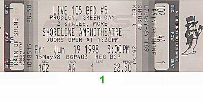 Prodigy1990s Ticket