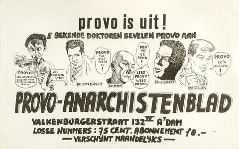 PROVO IS UIT Handbill