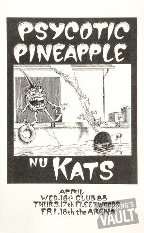 Psycotic Pineapple Poster