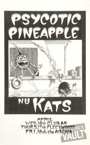 Psycotic PineapplePoster