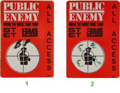 Public EnemyBackstage Pass