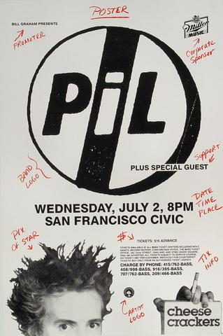 Public Image Limited Poster