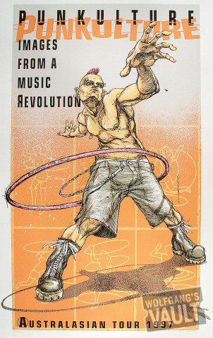 Punkulture: Images From a Music Revolution: Australasian Tour 1997 Poster