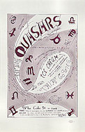 Quasers Ice Cream Handbill