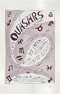 Quasers Ice Cream Handbill