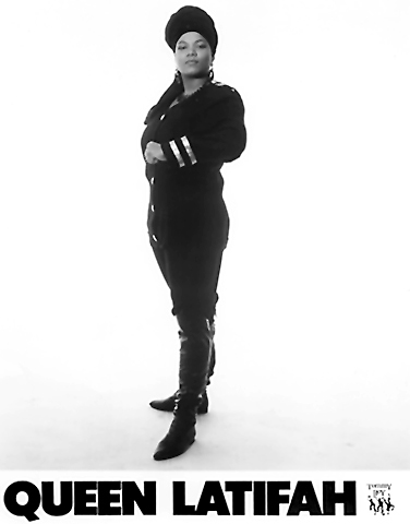 Queen Latifah Promo Print