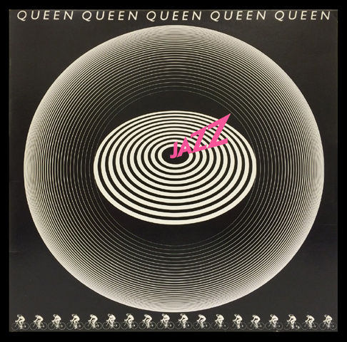 Queen Framed Album Cover