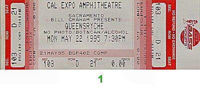 Queensryche1990s Ticket