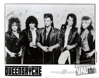 Queensryche Promo Print
