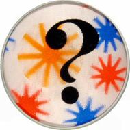 ? - Question Mark Vintage Pin