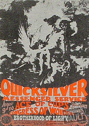 Quicksilver Messenger ServiceHandbill