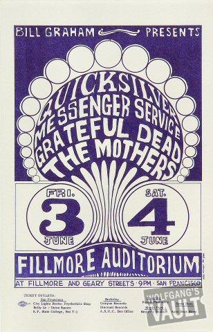 The Mothers Handbill