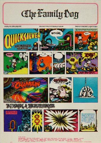 Quicksilver Messenger Service Postcard