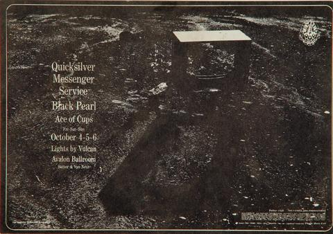 Quicksilver Messenger Service Postcard
