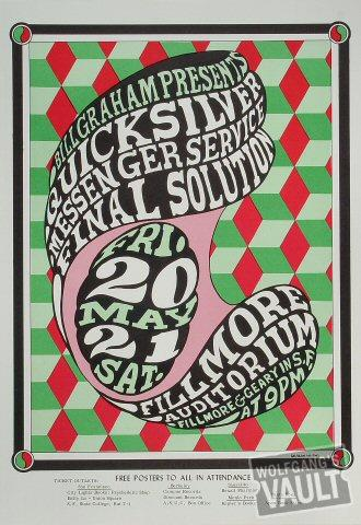 Quicksilver Messenger Service Poster