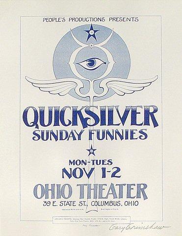Quicksilver Handbill