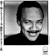 Quincy Jones Promo Print