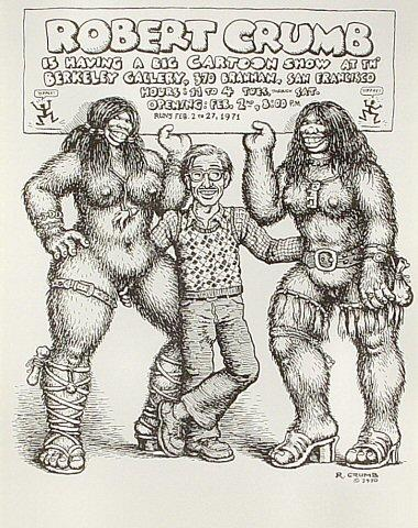 R. Crumb Handbill