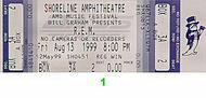 R.E.M. 1990s Ticket