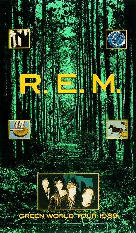 R.E.M.Poster