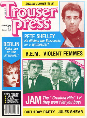 R.E.M. Trouser Press Magazine