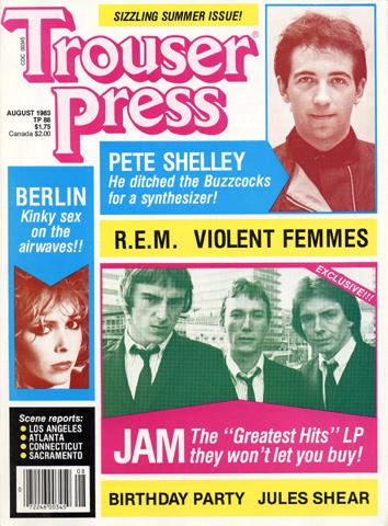 R.E.M.Trouser Press Magazine