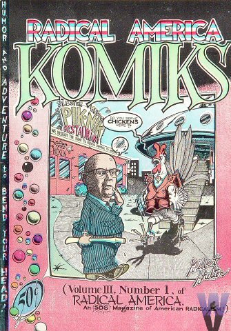Radical America Komiks Vol. III, #1Magazine