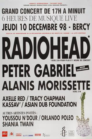 Radiohead Poster