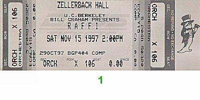 Raffi1990s Ticket