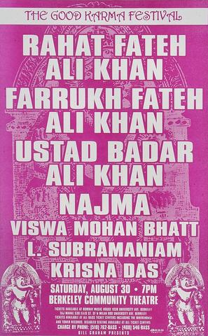 Rahat Fateh Ali Khan Poster