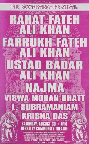 Rahat Fateh Ali Khan Poster