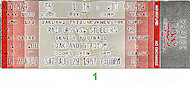 Raiders-Steelers Vintage Ticket